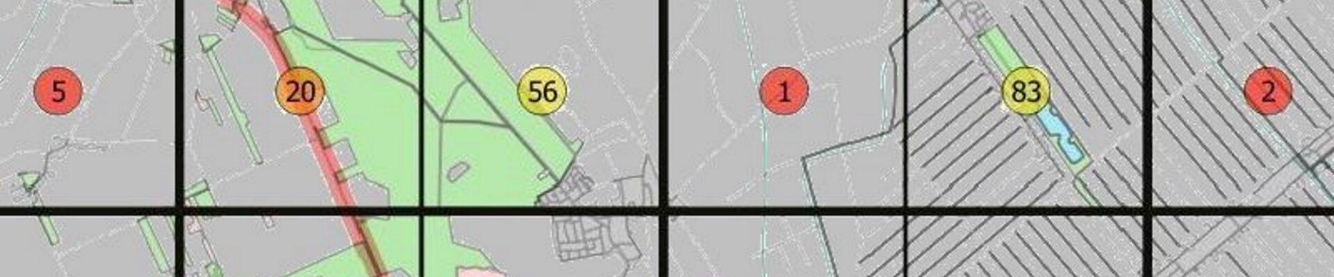 Update van kaarten en tabel voor de Nachtvlinderatlas van Drenthe